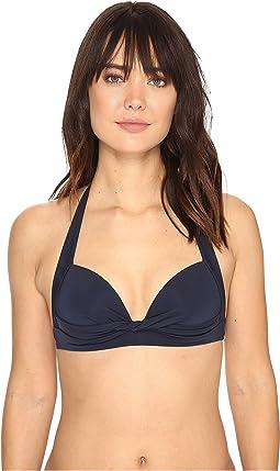 JETS by Jessika Allen - Jetset 50s Twist Halter Bikini Top