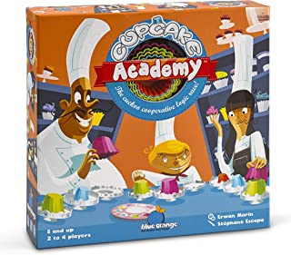 Blue Orange Games Cupcake Academy Board Game- New Cooperative Board Game for 2 to 4 Players. Recommended Ages 8 & up
