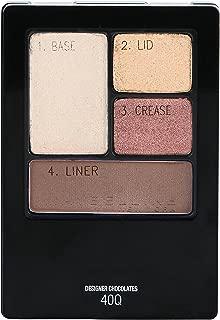 Maybelline New York Expert Wear Eyeshadow Quads, Designer Chocolates, 0.17 oz.