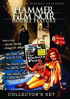 Hammer Film Noir Collector's Set, Vol. 2 (Terror Street / Wings of Danger / The Glass Tomb / Paid to Kill / The Black Glov...