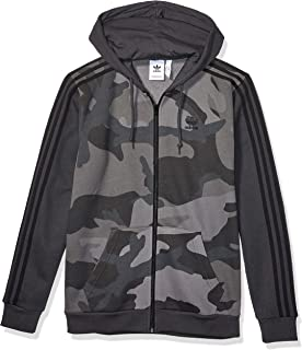Men's Camo Full-Zip Hooded Sweatshirt