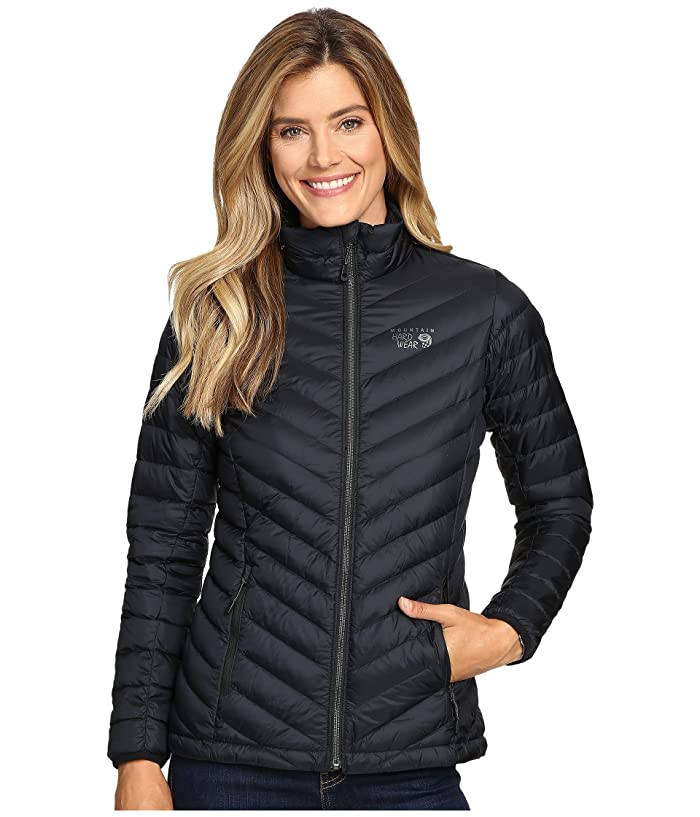 Mountain Hardwear Micro Ratio Down Jacket (Black) Women