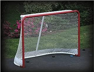 EZGoal Hockey Replacement Net with Skirt, 4 x 6-Feet (Renewed)