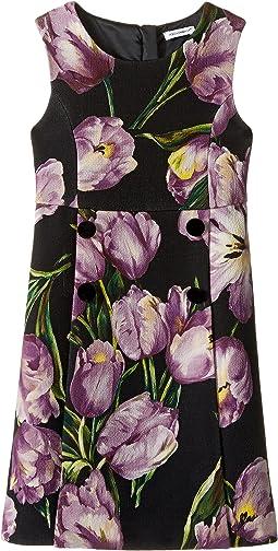 City Tulip Print Dress (Toddler/Little Kids)