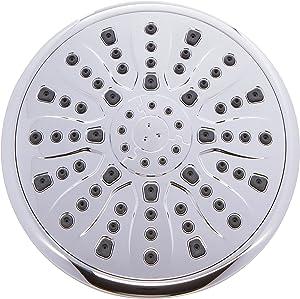 9 Inch Luxury Rain Shower Head - Overhead Thin Air-Injection Rainfall Showerhead - Indoor and Outdoor Modern Bath Spa Fixture - Aqua Elegante - Chrome