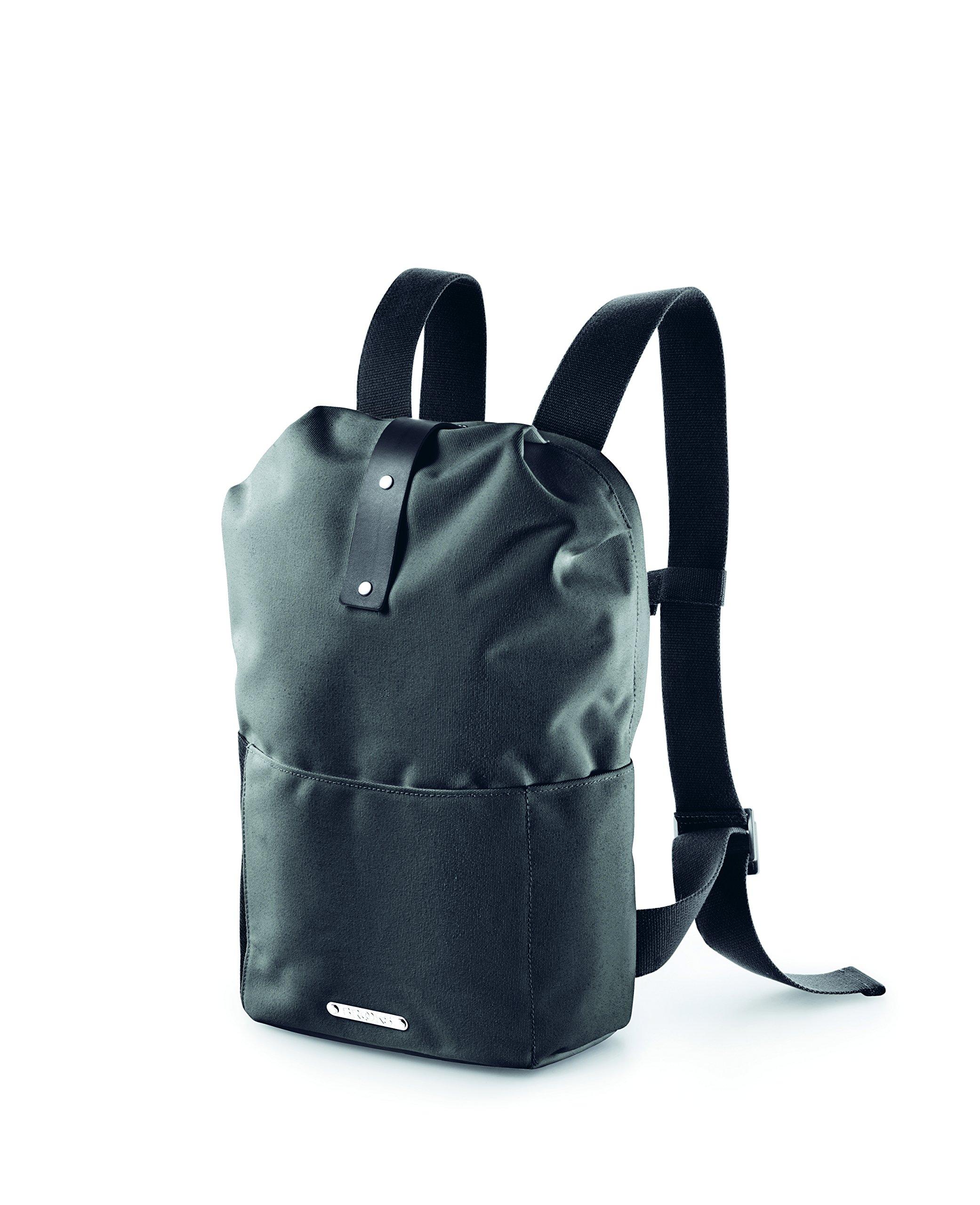 Brooks Unisex– Erwachsene Dalston Daypack, Grey Fleck/Black, Small - 12 Lite