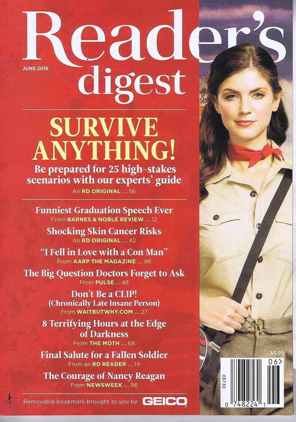 入口活気づける年齢Reader's Digest [US] June 2016 (単号)