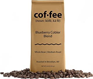 Blueberry Cobler Blend Whole Bean Coffee, Medium Roast, 1-Pound Bag