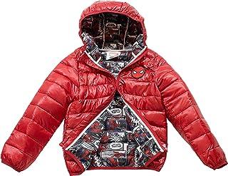 c8f13838b Marvel Spiderman Toddler/Boys Ultralight Hooded Puffer Jacket, 2T-5T & 4-