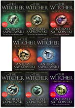 Andrzej Sapkowski Witcher Series 8 Books Collection Set - Blood of Elves, Time of Contempt, Baptism of Fire, Tower of the ...