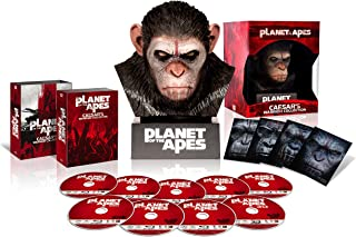 猿の惑星 ブルーレイ・コレクション ウォーリアー・シーザー・ヘッド付 [Blu-ray]