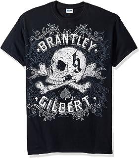 FEA Men's Brantley Gilbert Ornate Skull Mens T-Shirt