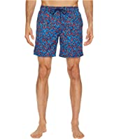 Mr. Swim - Splatter Printed Dale Swim Trunk