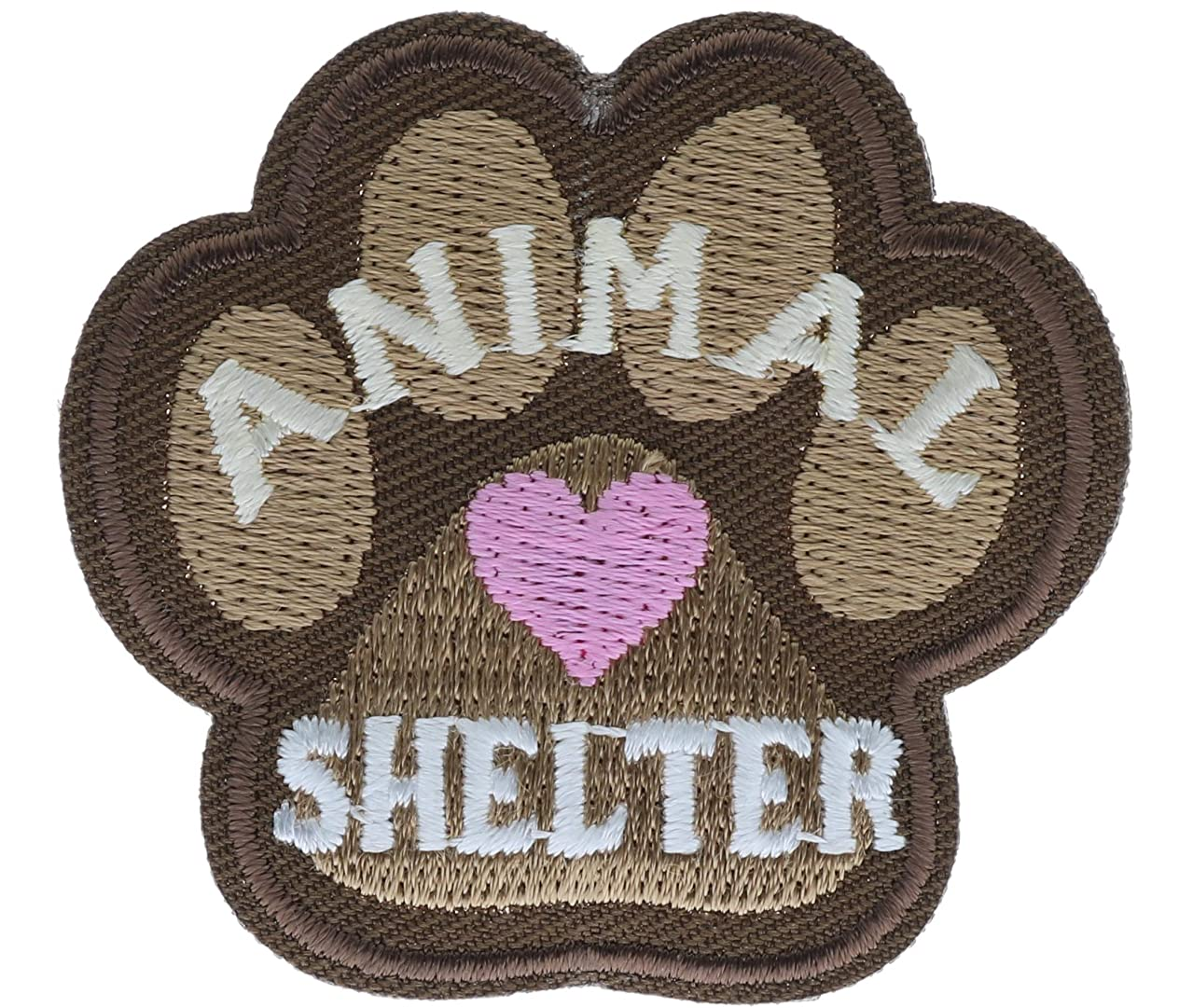 Animal Shelter Paw Small 2 inch patch Ava2719