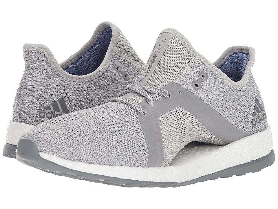 adidas Running PureBOOST X Element (Grey/Grey) Women