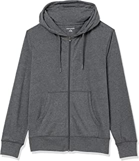 Amazon Essentials Lightweight Jersey Full-Zip Hoodie Fashion-Hoodies Uomo
