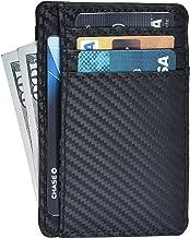 Minimalist Wallets for Men & Women RFID Front Pocket Leather Card Holder Wallet
