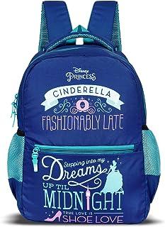 Priority Princess Cinderella Royal Blue Casual Backpack Kid's School Bag