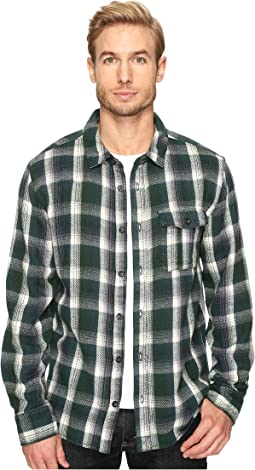 Yarn-Dye Flannel Logger Shirt Jacket
