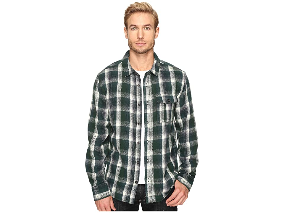Alternative Yarn-Dye Flannel Logger Shirt Jacket (Green Plaid) Men