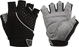 Tourdarson Weight Lifting Gym Gloves Microfiber & Anti-Slip Silica Gel Grip Padded Workout Gloves for Weightlifting,  Cross Training,  Gym,  Fitness,  Bodybuilding Men & Women