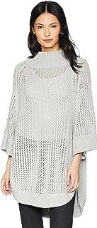 Women's Rib-Collar Tunic Sweater