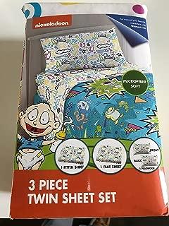 Walmart Rugrats 3 Piece Twin Sheet