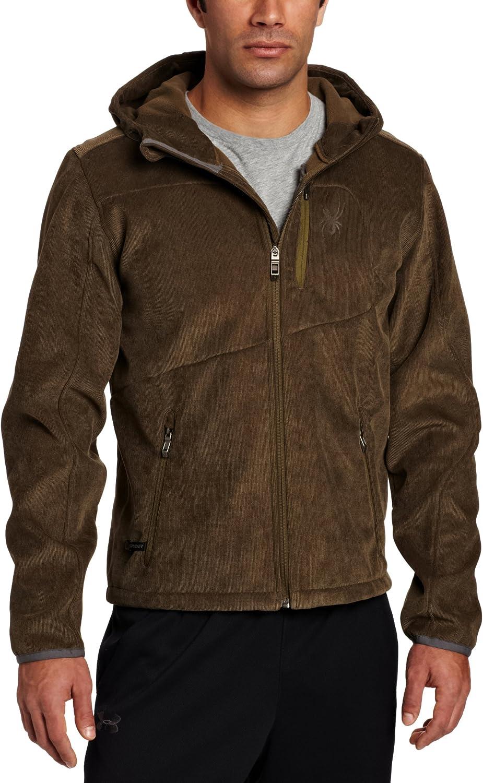 Spyder Men's Patsch Novelty Hoody Softshell Jacket