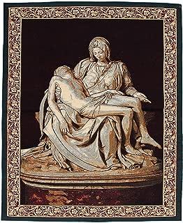 Arazzo ispirato alla Trinità dell/'Antico Testamento cm 45x55