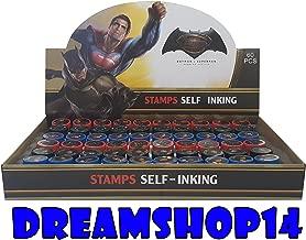 Batman VS Superman Self Ink Stampers Full Party Favor Box 60pcs