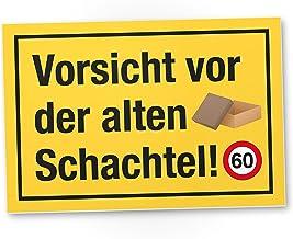 DankeDir! 60 Jahre Vorsicht Alte Schachtel, Kunststoff Schil