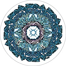 TIRE COVER CENTRAL Celtic Mandala Spare Tire Cover for 245/75R16 fits Camper-Jeep-RV-Scamp-Trailer(Drop Down Size menu Dubois(c)