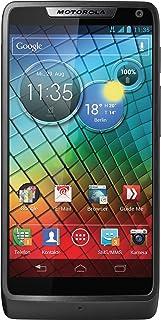 Motorola RAZR i Smartphone (10,9 cm (4,3 Zoll) Touchscreen, 8 Megapixel Kamera, 8GB Speicher, micro USB, Android Jelly Bean) schwarz