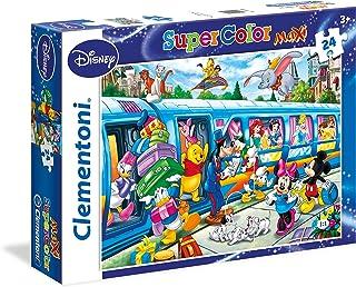 Clementoni Supercolor Maxi 24 Pieces Classic Disney Puzzle, Multicolour