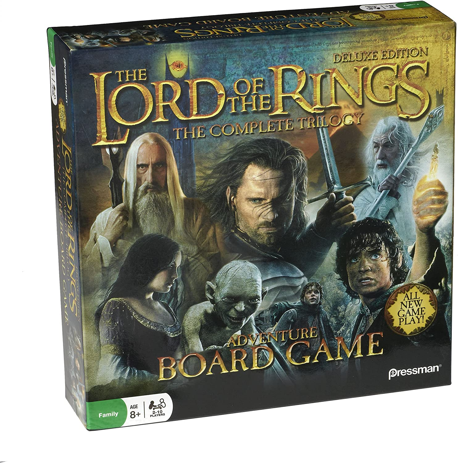 Lord of the Rings  The Complete Trilogy Adventure Board Game