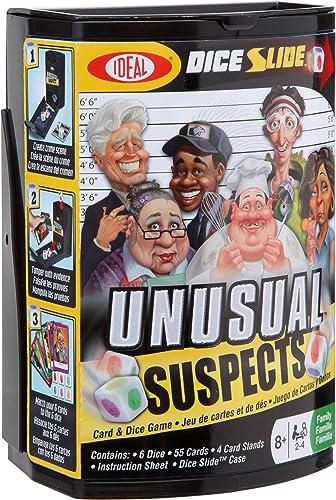 ventas en linea Ideal Unusual Suspects Dice Dice Dice and Card Game  barato