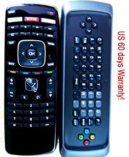 New Vizio 3d Smart Tv Remote Xrt303 3d Keyboard Remote for M3d550sl M3d470kd M3d650sv M3d550sl M3d470kde M3d550kde E500d-a...