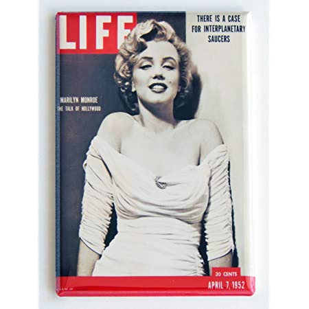 "Marilyn Monroe white bathing suit Fridge Magnet Size 2.5/"" x 3.5/"""