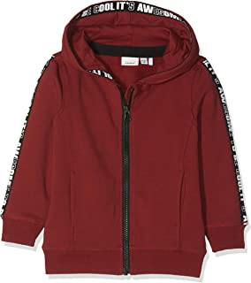 NAME IT Nmmramon Swe Card W Hood BRU Sudadera para Niños