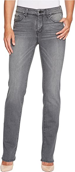 NYDJ Marilyn Straight Jeans in Future Fit Denim in Alchemy