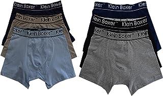 1b552511507549 6 o 12 Paia Ragazzi Boxer Misto Cotone di Marca Pantaloncini Mutande Boxer  5-13