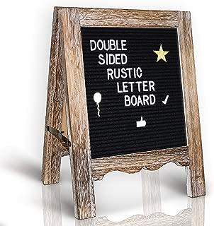 Rustic Felt Letter Board 15