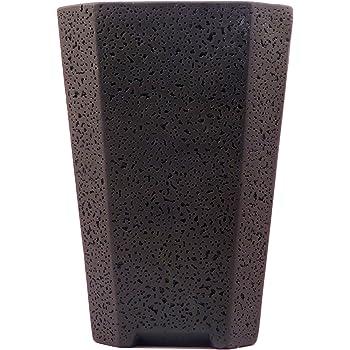 Agricom Farm & Garden Cement Pot (Black)