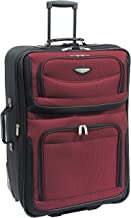 "Travel Select Amsterdam 29"" Expandable Rolling Upright Luggage, Burgundy"