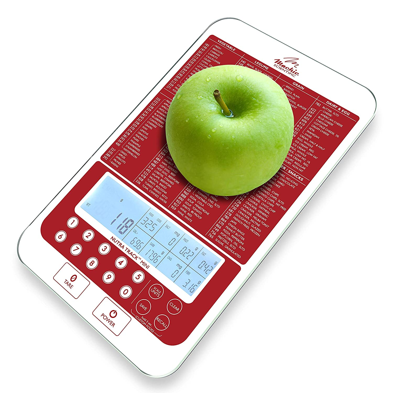 Mackie Food Scale Digital Nutrition 5% OFF Portions Long Beach Mall Kitchen Easy
