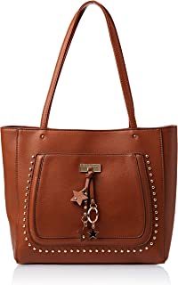 U.S. Polo Assn. Tote Bag for Women- Cognac