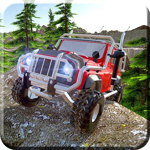 Stunt Man Extreme Down Hill Fiesta de saltos Adventure 3D: 4x4 Offroad Hill Climbing Jeep Stunts Racing Simulador de juegos gratis para niños 2018