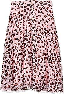 Tommy Jeans Women's Tjw Leopard Print Midi Skirt