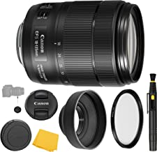 Canon EF-S 18-135mm f/3.5-5.6 IS Nano USM Lens + UV Filter + Collapsible Rubber Lens Hood + Lens Cleaning Pen + Lens Cap Keeper + Cleaning Cloth - 18-135mm IS Nano USM - International Version