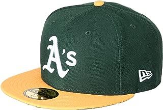 (ニューエラ)NEW ERA ベースボールウェア MLB ACPERF オークランド・アスレチックス ホームキャップ 17J 11449354 [ユニセックス]